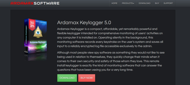 Adamax Keylogger