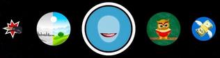 Логотипы фильтров Инстаграм