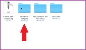 Effect icon template